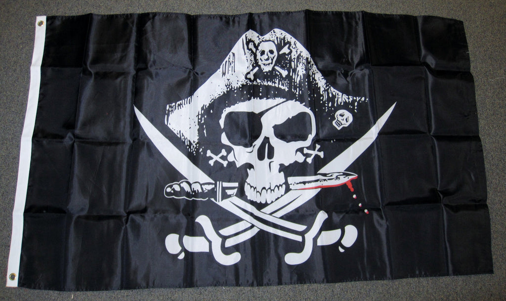 3'X5' Deadman's Chest Pirate Nylon Flag