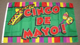 3'X5' Cinco De Mayo Polyester Flag Mexican Hispanic Heritage