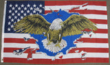 3'X5' USA Eagle Polyester Flag United States Of America