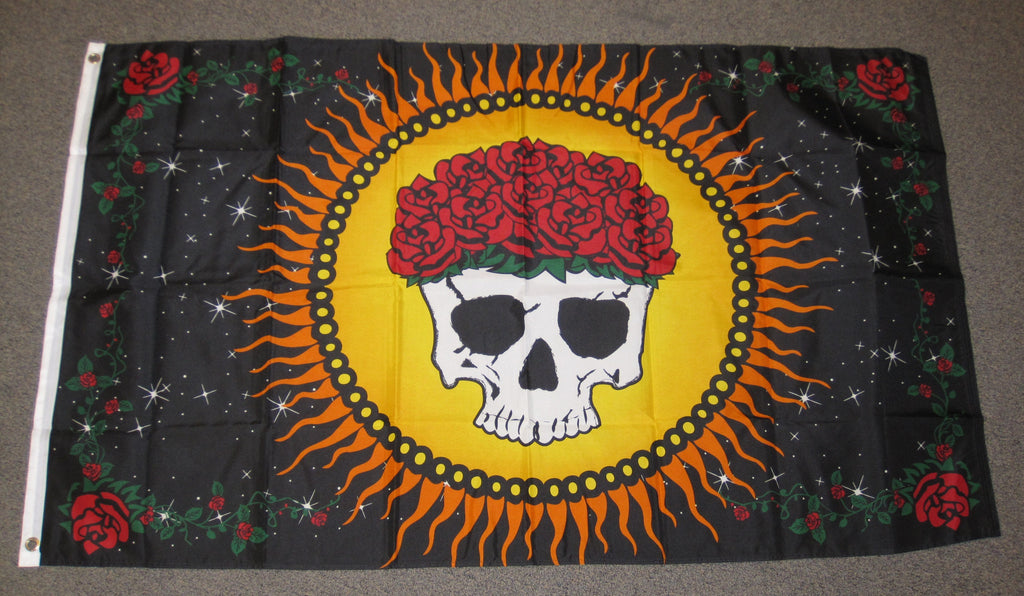 3'X5' Graciously Departed Polyester Flag Day Of The Dead
