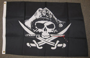 2'X3' Dead Man's Chest Pirate Polyester Flag