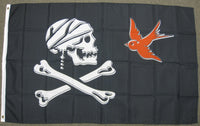 3'X5' Pirate Sparrow Polyester Flag