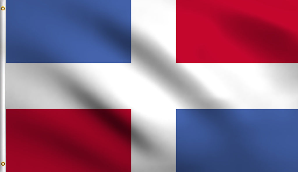 3x5 Dominican Republic Polyester Flag Santo Domingo
