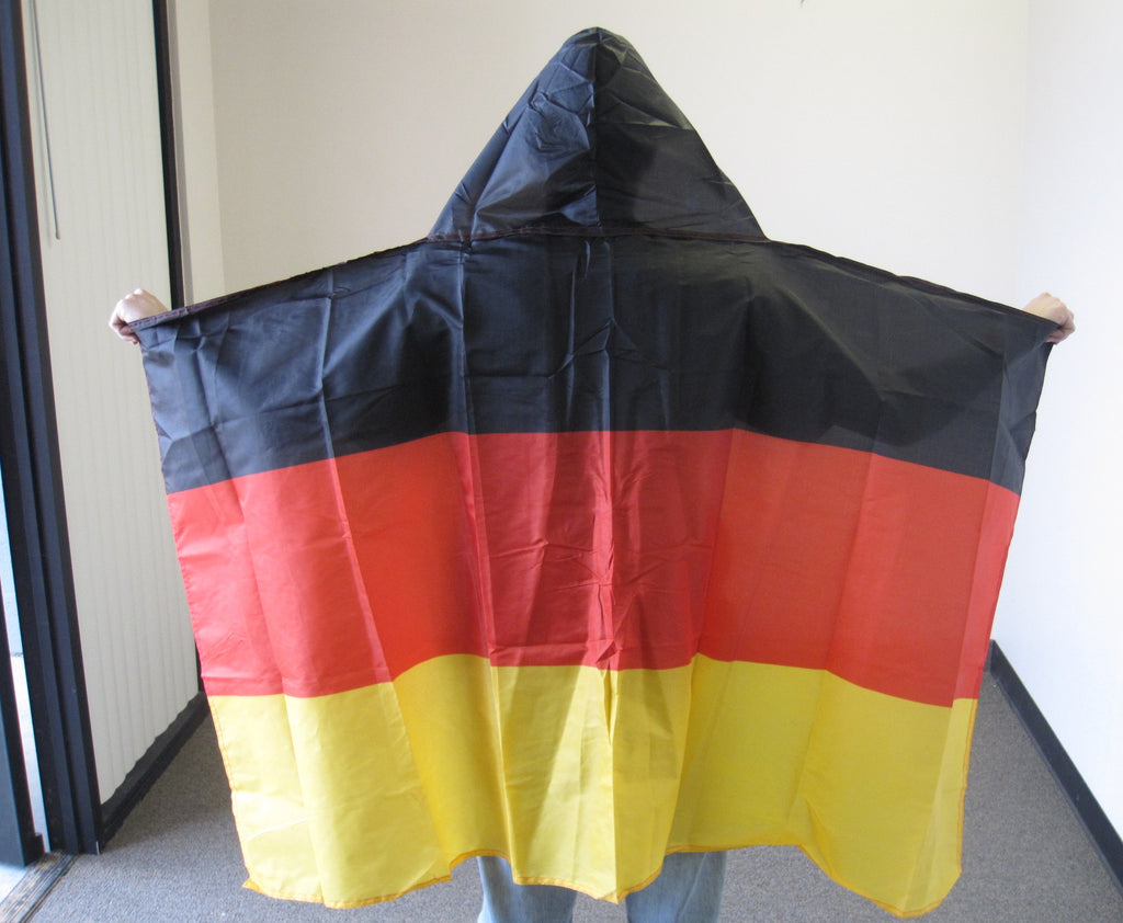 3'X5' Germany Hooded Cape Polyester Flag German