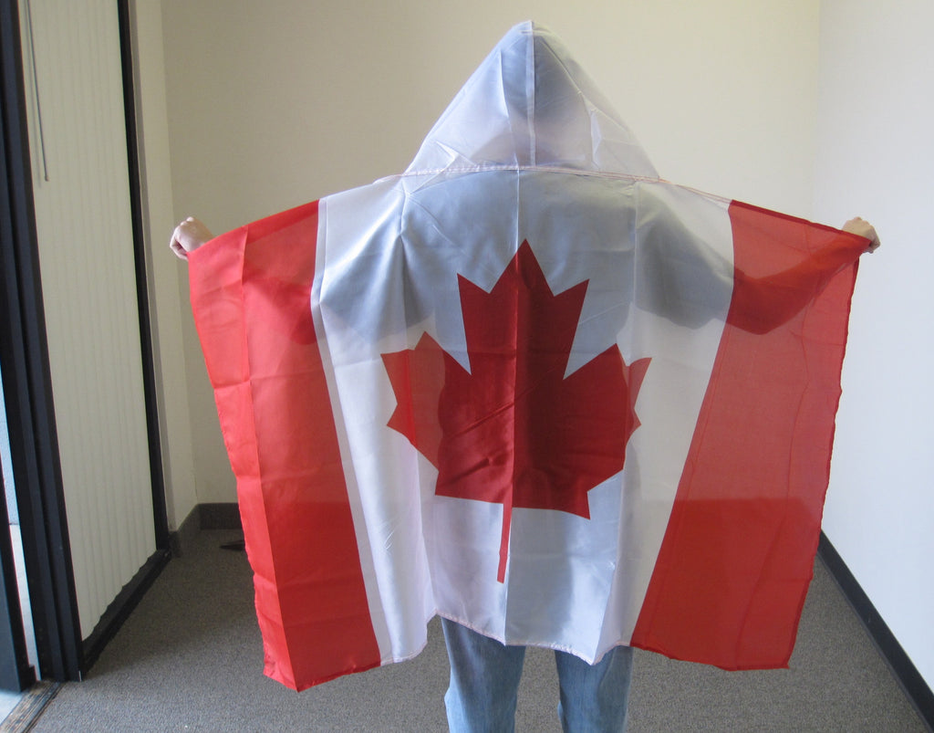 3'X5' Canada Hooded Cape Polyester Flag Canadian