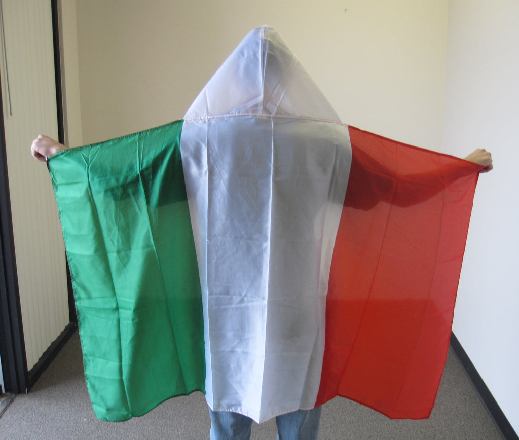 3'X5' Italy Hooded Cape Polyester Flag Italian