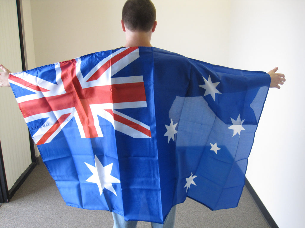 3'X5' Australia Cape With Sleeves Polyester Flag Australian