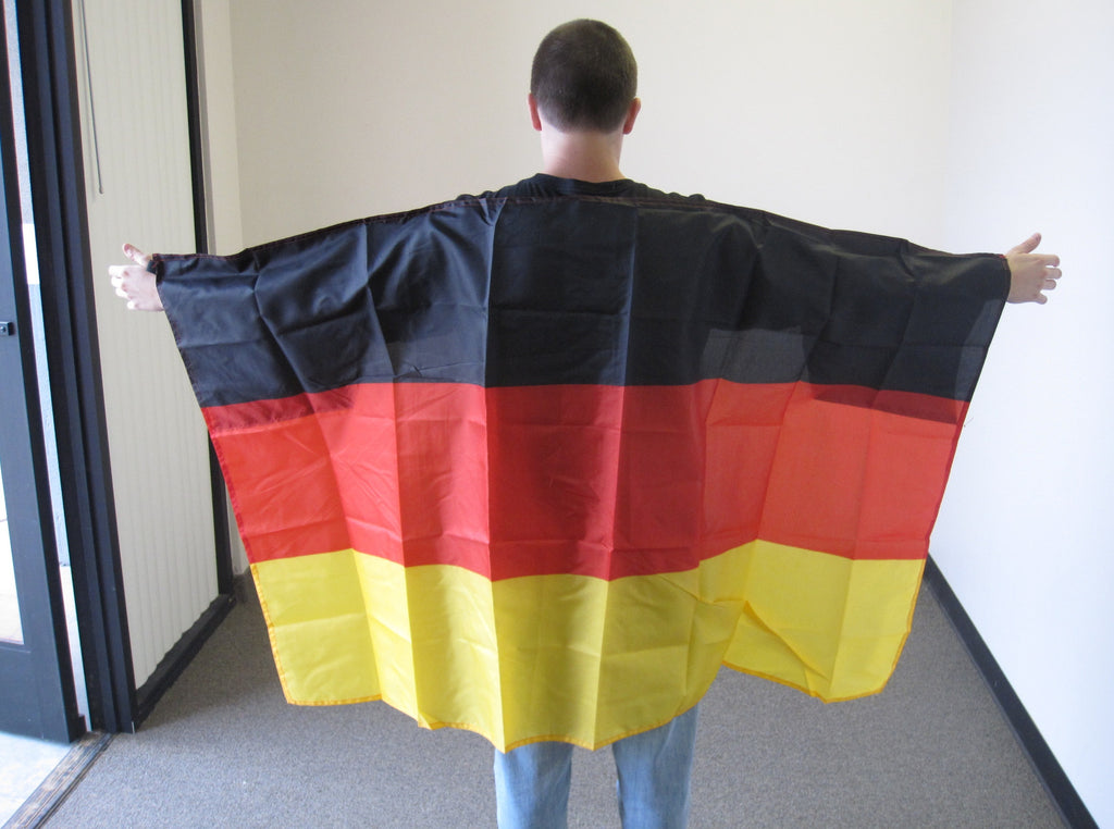 3'X5' Germany Cape With Sleeves Polyester Flag German
