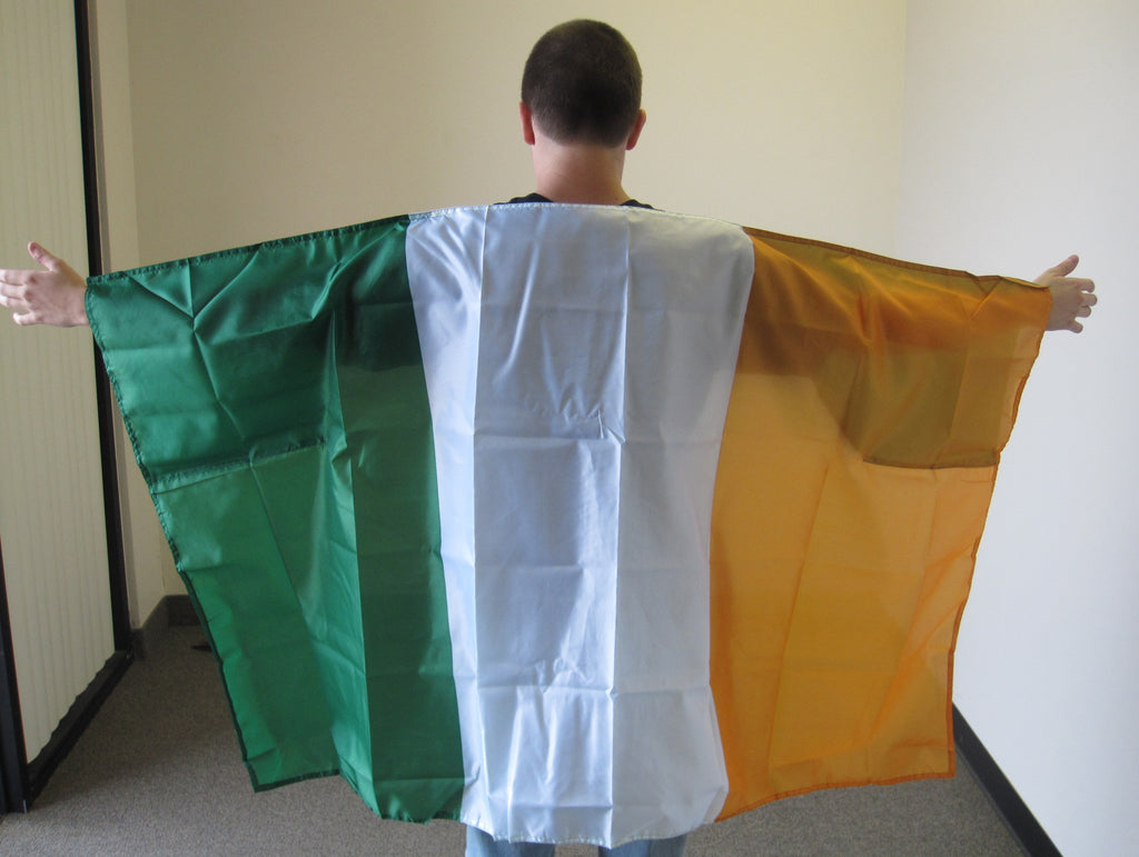 3'X5' Ireland Cape With Sleeves Polyester Flag Irish
