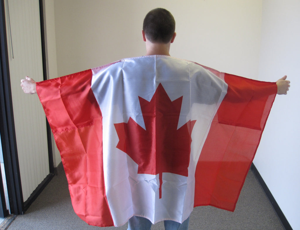 3'X5' Canada Cape With Sleeves Polyester Flag Canadian