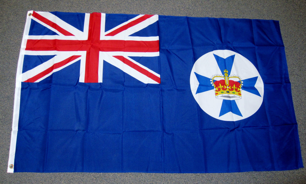 3'X5' Queensland Polyester Flag Australia UK