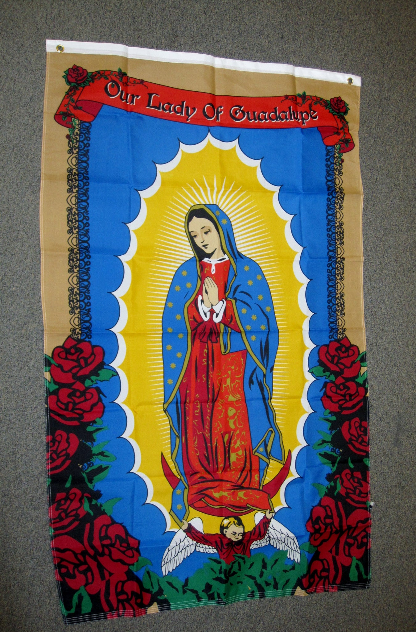 3'X5' Our Lady Of Guadalupe Polyester Flag SAINTS Virgin Mary