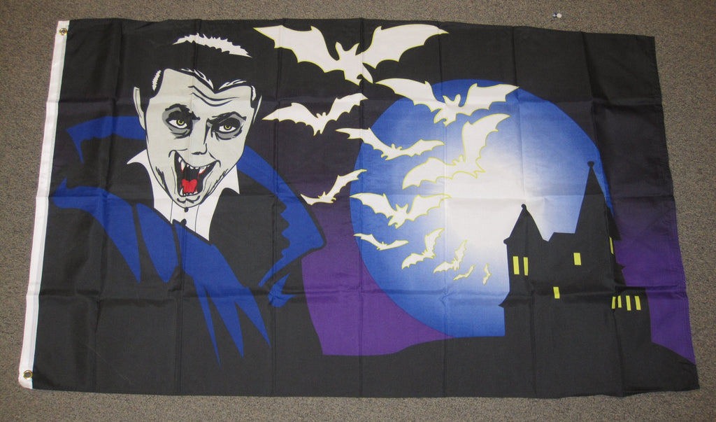 3'X5' Vampire Polyester Flag Count Dracula