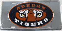 Auburn University Tigers Aluminum Embossed License Plate