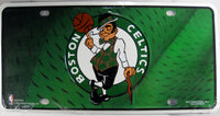 Boston Celtics Aluminum Embossed License Plate