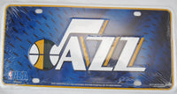 Utah Jazz Aluminum Embossed License Plate