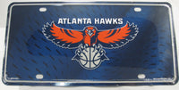 Atlanta Hawks Aluminum Embossed License Plate