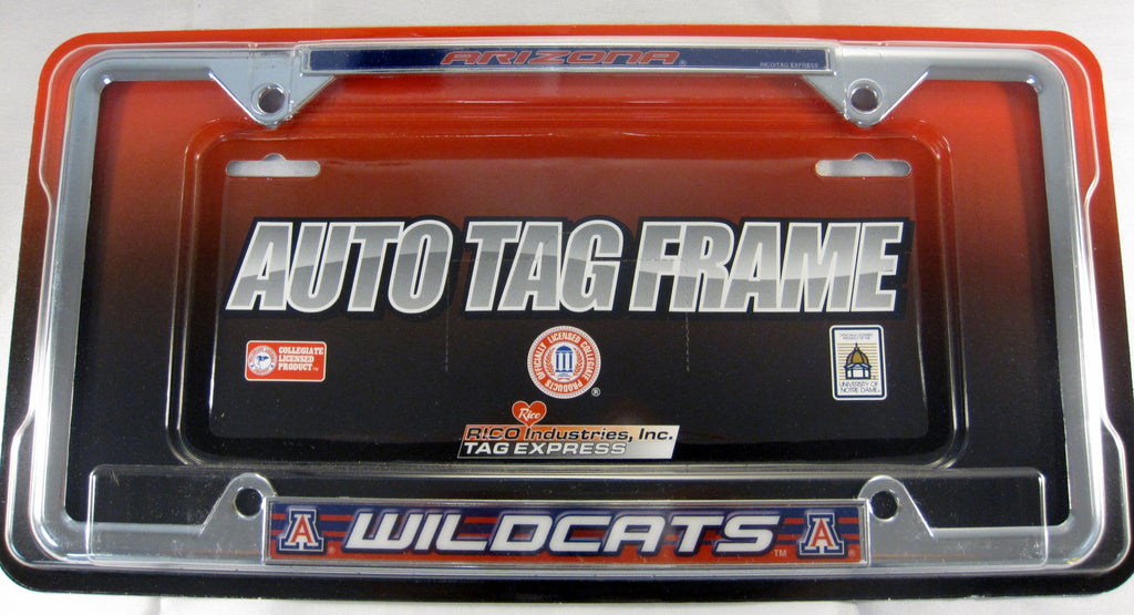 University Of Arizona UOA Wildcats Metal License Plate Frame