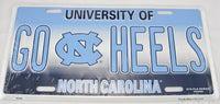 Go Heels North Carolina State Univeristy Tarheels UNC Aluminum Embossed License Plate