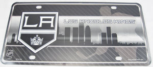LA Kings Los Angeles Aluminum Embossed License Plate