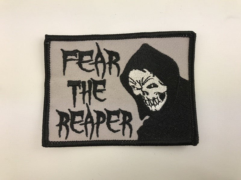 "2 1/2"" X 3 1/2"" Fear The Reaper Embroidered Patch"