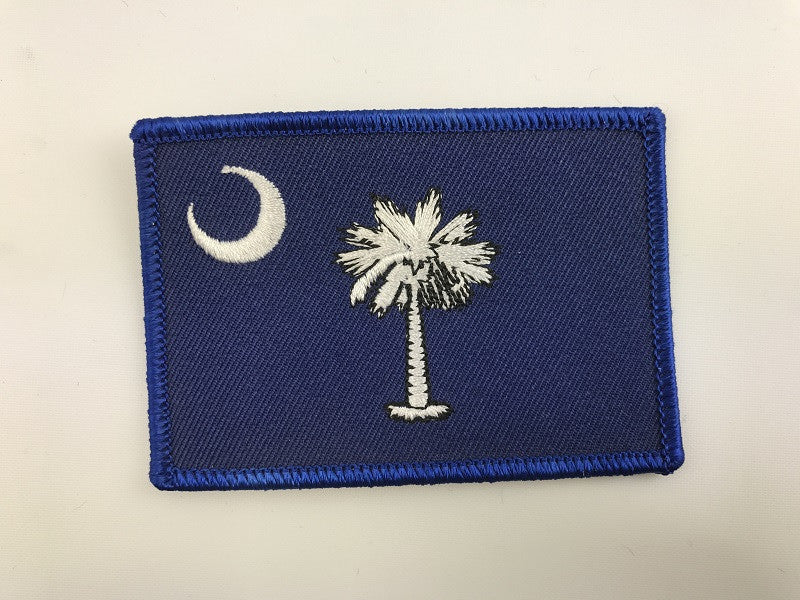 "2 1/4"" X 3 1/4"" South Carolina Embroidered Patch"