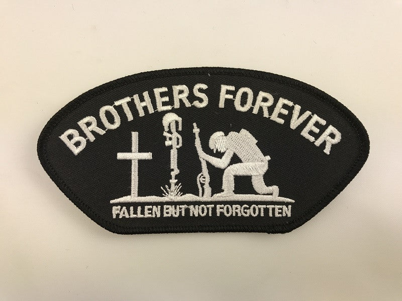 "3"" X 5 1/2"" Brothers Forever Embroidered Patch"