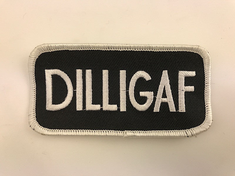 "2"" X 4"" DILLIGAF Embroidered Patch"