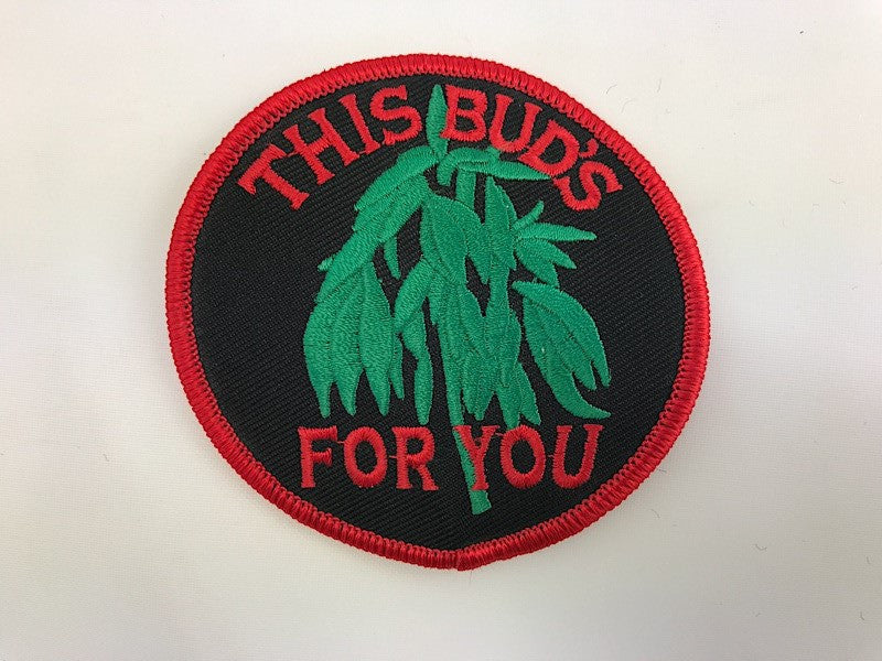 "3"" This Bud's For You Embroidered Patch"