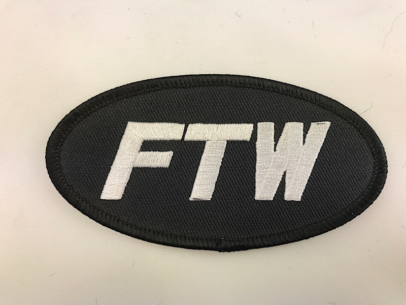"2"" X 4"" FTW For The Win Embroidered Patch"