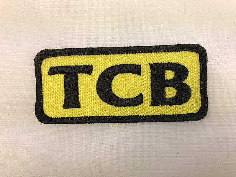 "1 1/2"" X 3 1/2"" TCB Embroidered Patch"