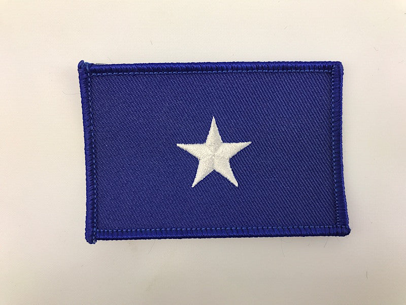 "2"" X 3 1/2"" Bonnie Blue Flag Embroidered Patch"