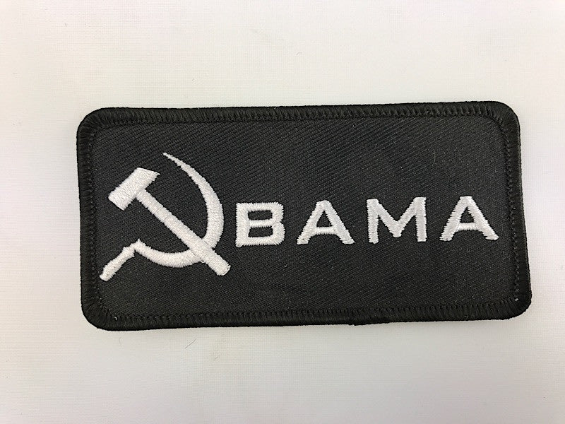 "2"" X 4"" Obama Embroidered Patch"