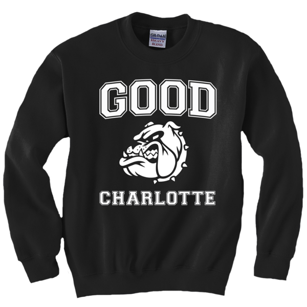 Collegiate Crewneck Black