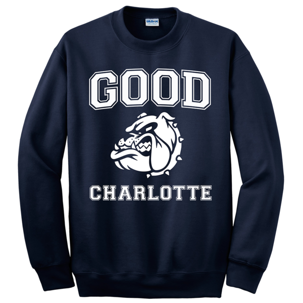 Collegiate Crewneck Navy
