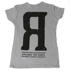 Ladies Reverse R Grey Tee