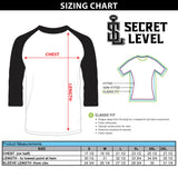 Custom Mens Empire Baseball Tee - Secret Level Clothing