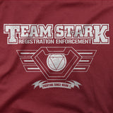"Iron Man t shirt -inspired ""TEAM STARK"" End Game War tee shirt - Secret Level Clothing"
