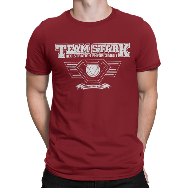"Iron Man t shirt -inspired ""TEAM STARK"" Infinity War tee shirt - Secret Level Clothing"
