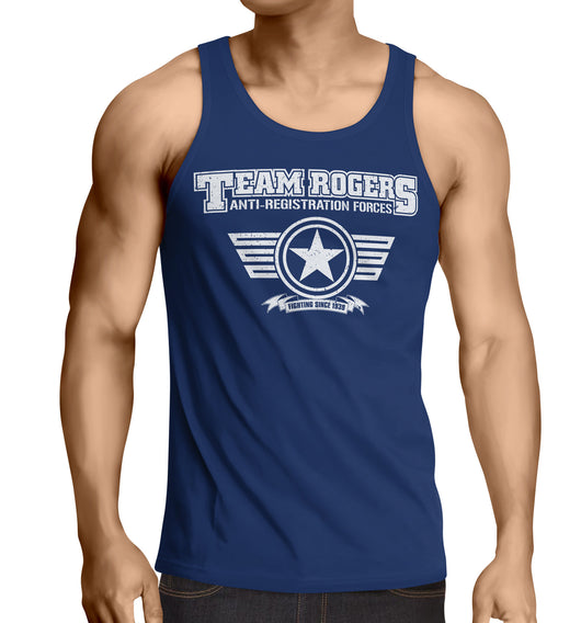 Team Captain America tank top Inspired-