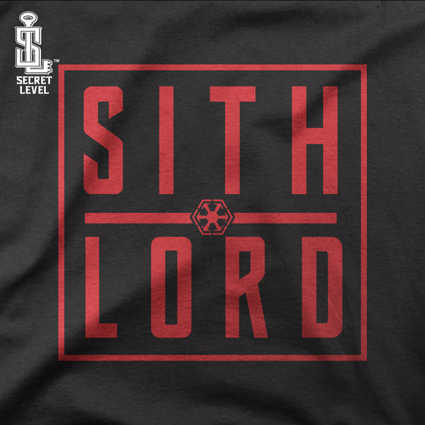 Sith Lord-Hoodie Mens-black empire vader dark side