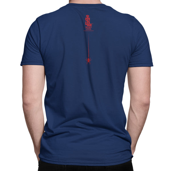 "Spider Man t shirt -inspired ""Parkers Photography"" tee shirt (far from home) blue - Secret Level Clothing"