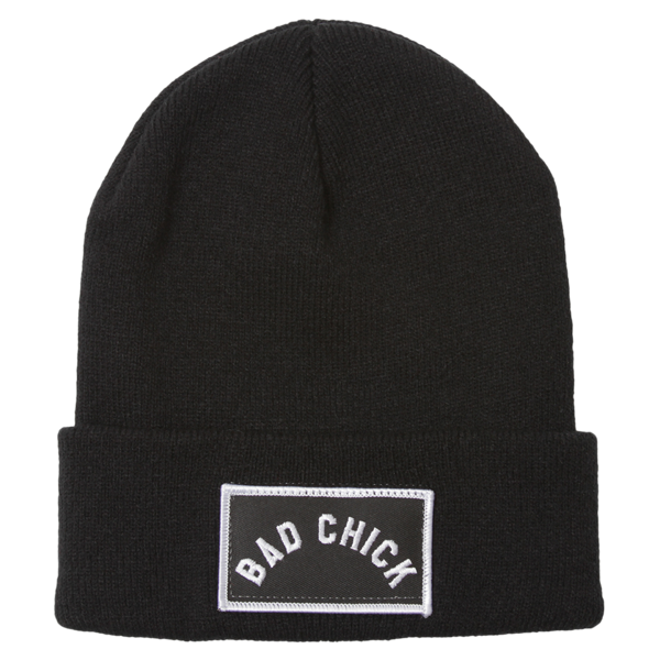 Bad Chick Patch Beanie