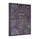 Wisdom -  Framed Premium Gallery Wrap Canvas