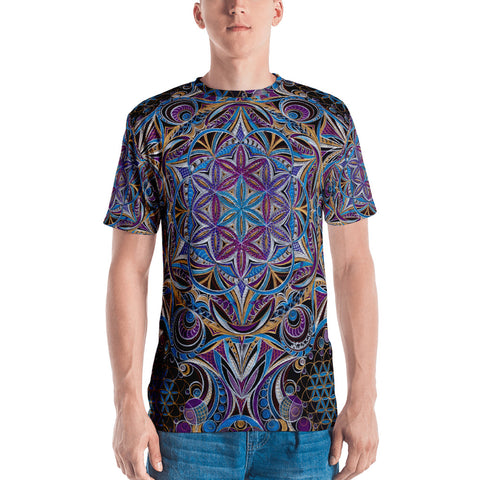 Secret Geometry - Men's T-shirt (limited)