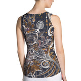 Night Song - Sublimation Cut & Sew Tank Top