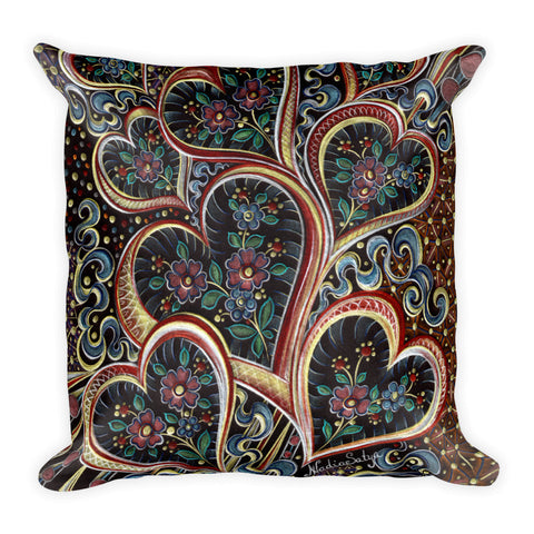 Love Love Love Square Pillow