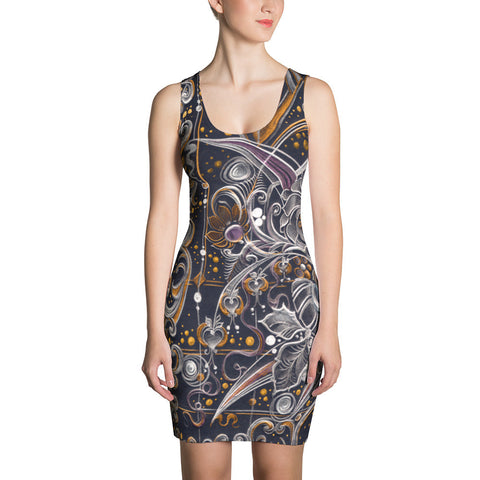 Night Song - Sublimation Cut & Sew Dress