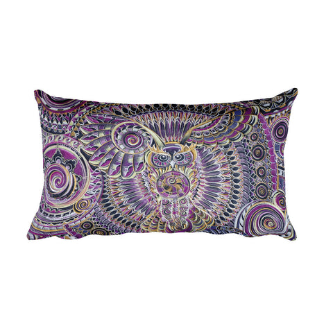 Wisdom - Rectangular Pillow