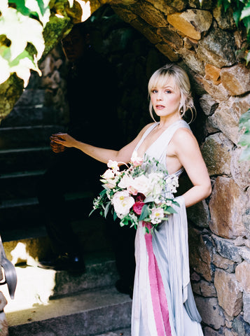 Styled Shoot by Nikki Santerre and Maggie's Misc featuring dyed silk ribbon from A Ribbon's Nest